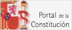 Imagen del escudo de España que da acceso al sitio web Portal de la Constitución
